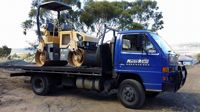 Machinery Towing Hobart