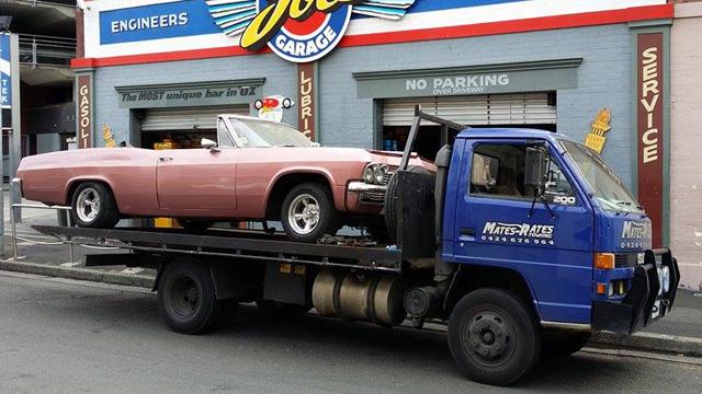 Hobart Tow Truck